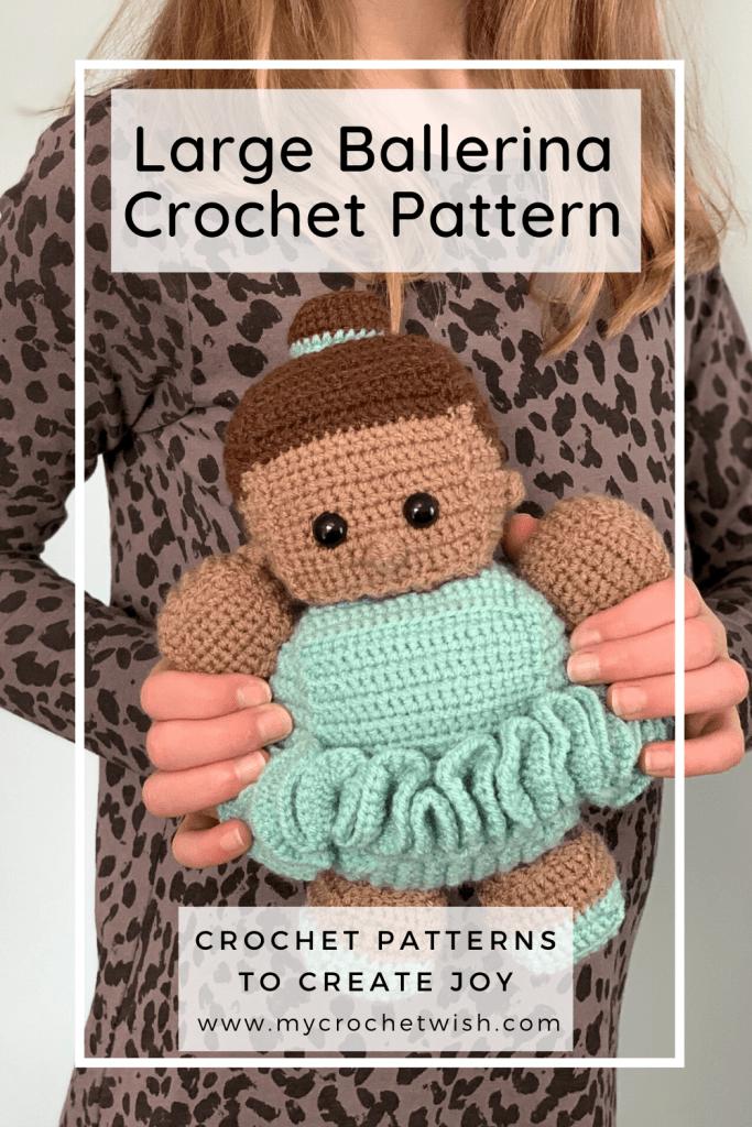 Ballerina Doll Crochet Pattern