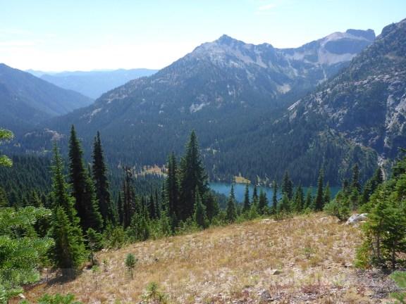 Deep Lake ~1300 feet below