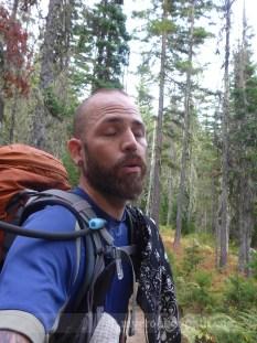 Zombie hiker