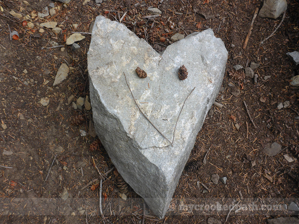 Aw, at least the trail is happy!