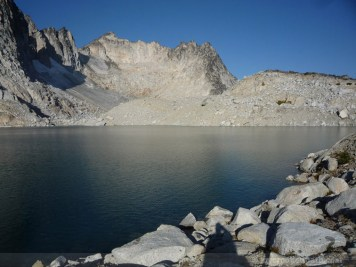 Isolation Lake and Dragontail Peak