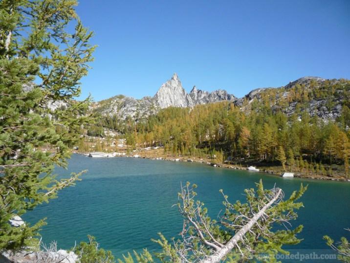 Prusik Peak over Perfection Lake