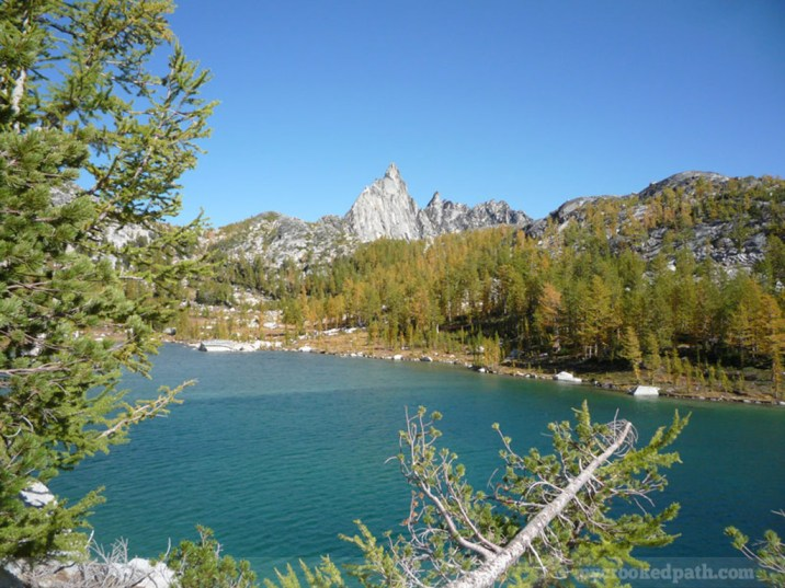 Prusik Peak over Perfection Lake