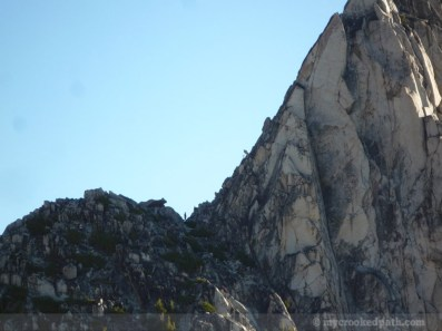 Climbers on Prusik