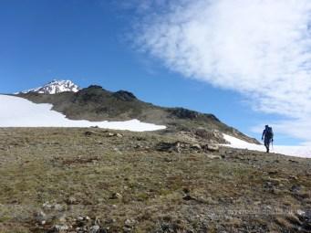 Glacier Peak from Glacier Gap