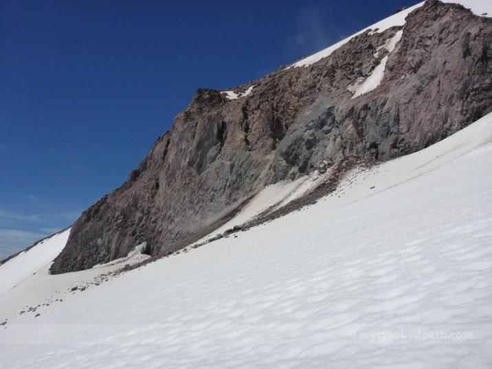 Rockfall off Disappointment Peak