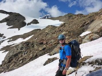 Glacier Peak from just below Glacier Gap