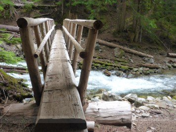 Only stream crossing in need of a bridge