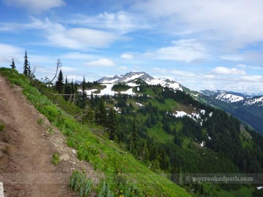 Looking toward White Pass