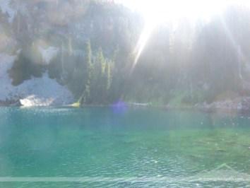 Sunshine over emerald