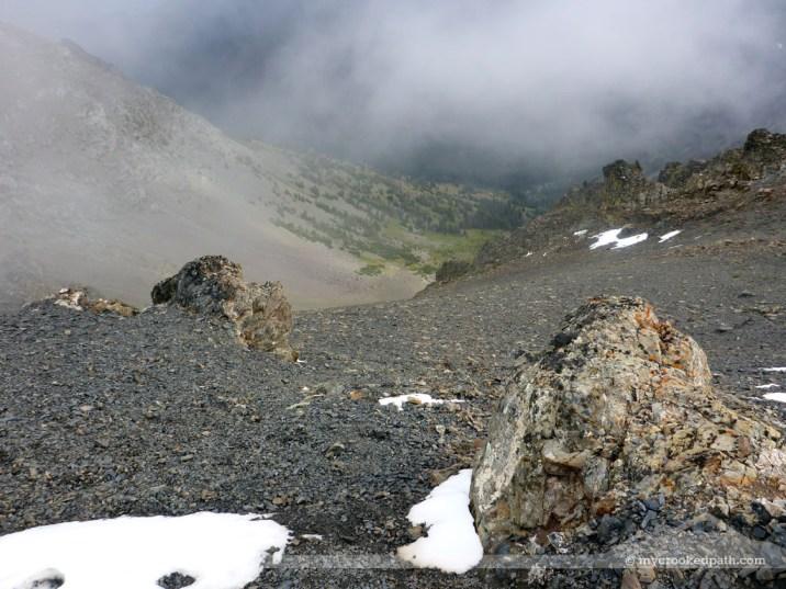 Ridge above the cirque