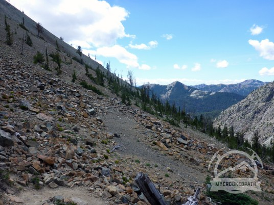 Remnants of Longs Pass Road