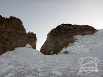 Cathedral Ridge (L), Cadaver Gap (C), Gibraltar Rock (R)