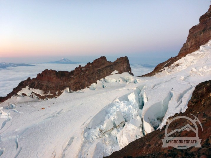 Mt. Adams at sunrise