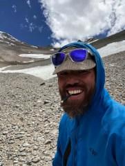 I found a geocache at 16K feet
