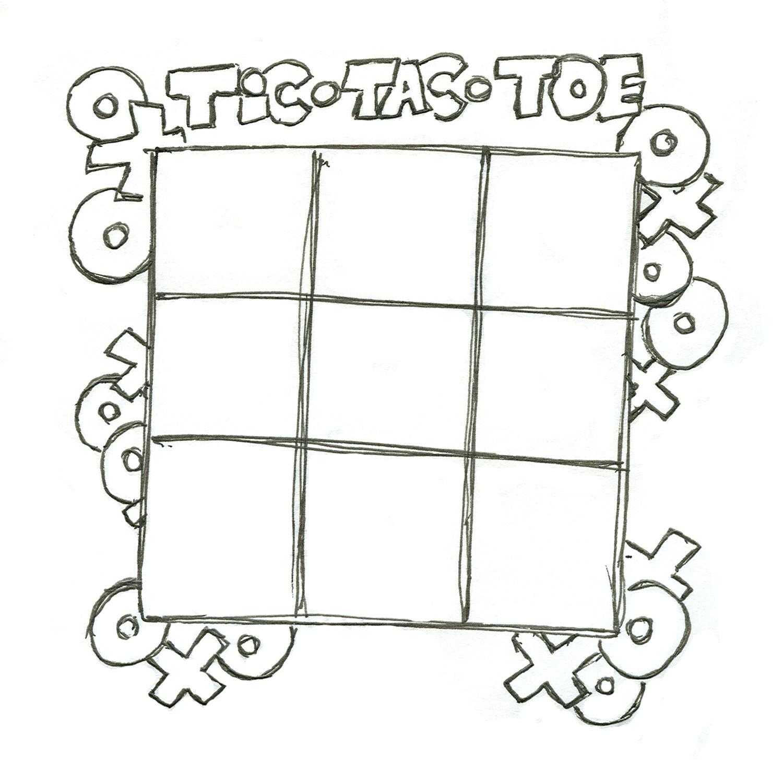 Tic Tac Toe Clip Art Cliparts