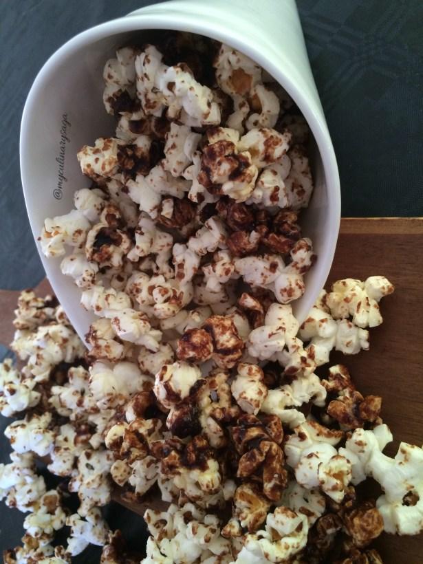 Swet & Spicy Popcorn