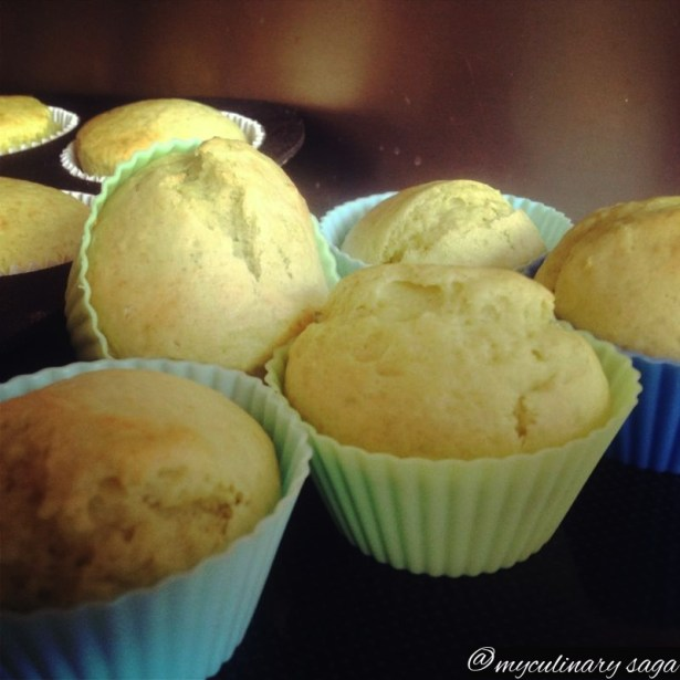 Avocado Lime Muffins