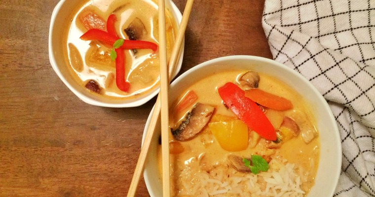 Veg Thai Red Curry