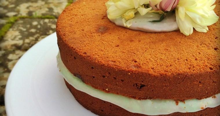 Brown Sugar Toffee Cake
