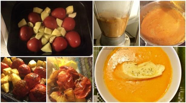 R tomato soup Collage