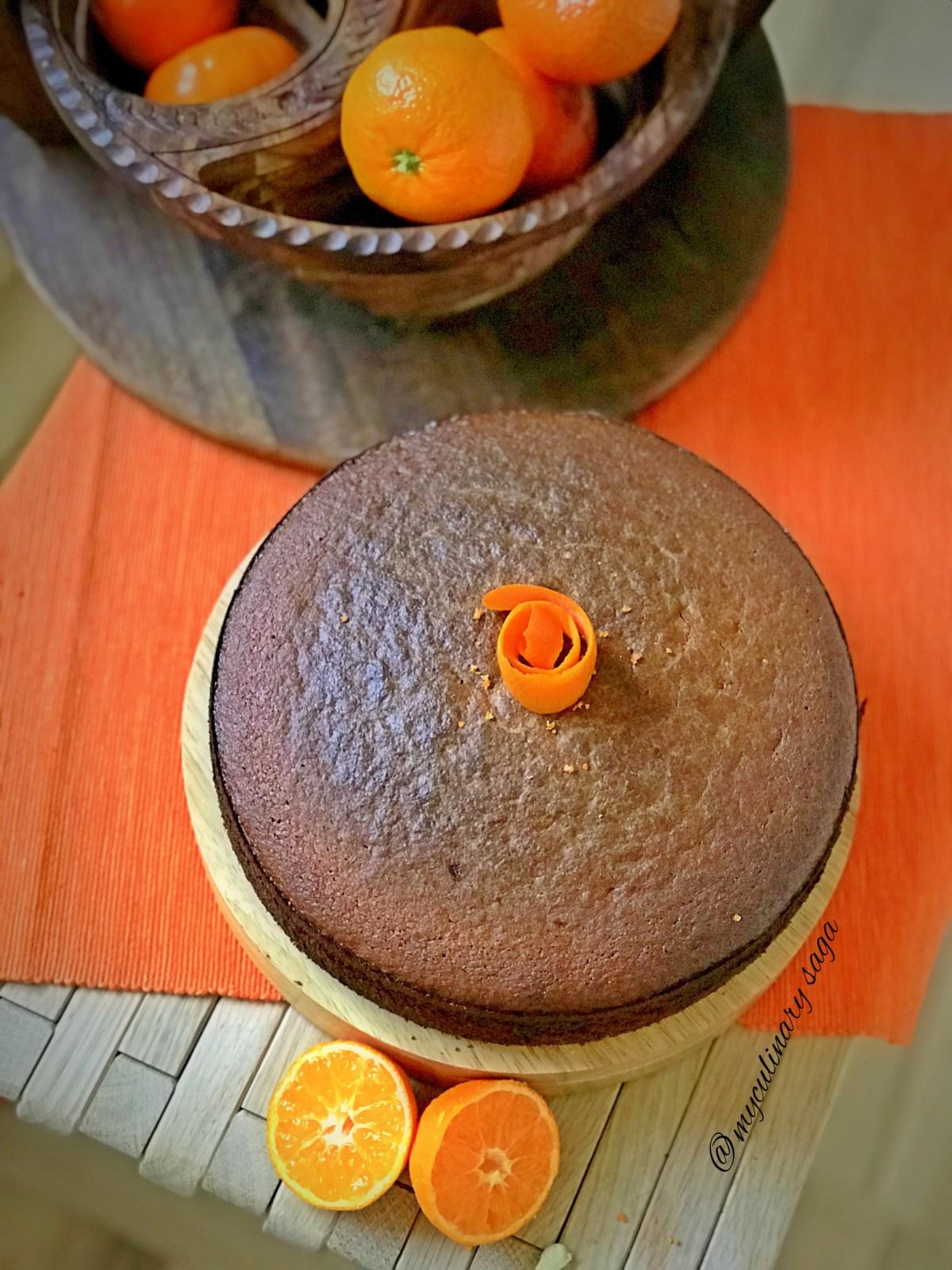 Clementine & Almond Cake