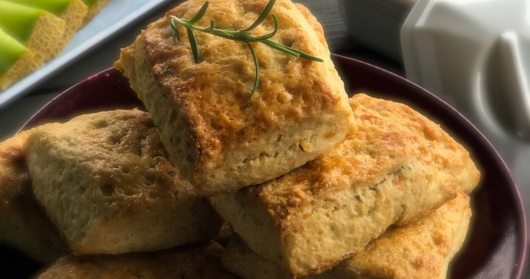Rosemary Cheese Scones