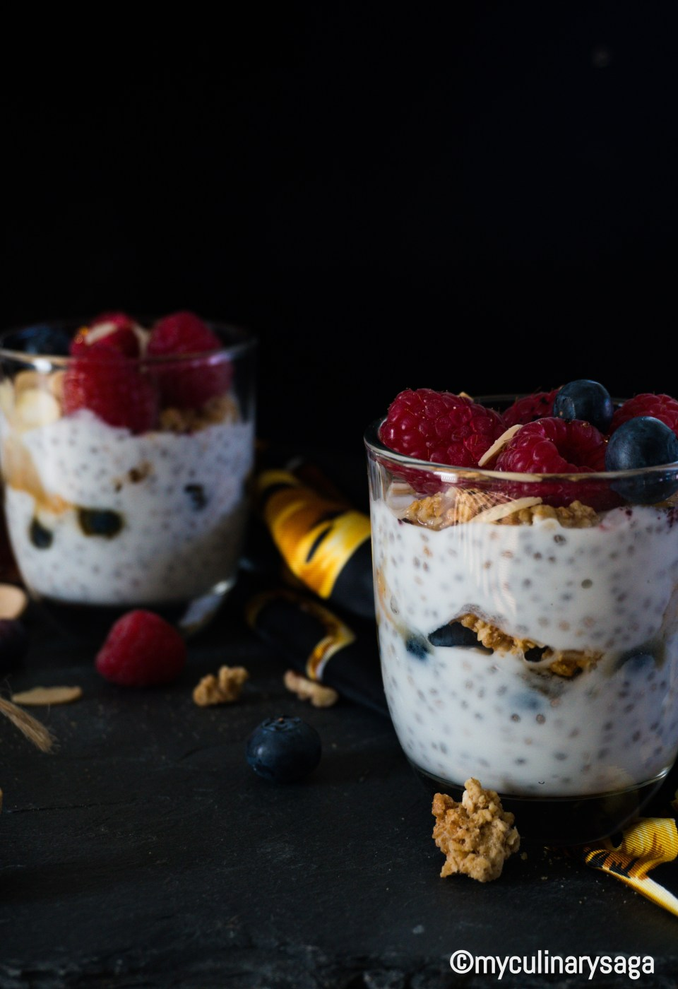 Berry Vanilla Chia Pudding