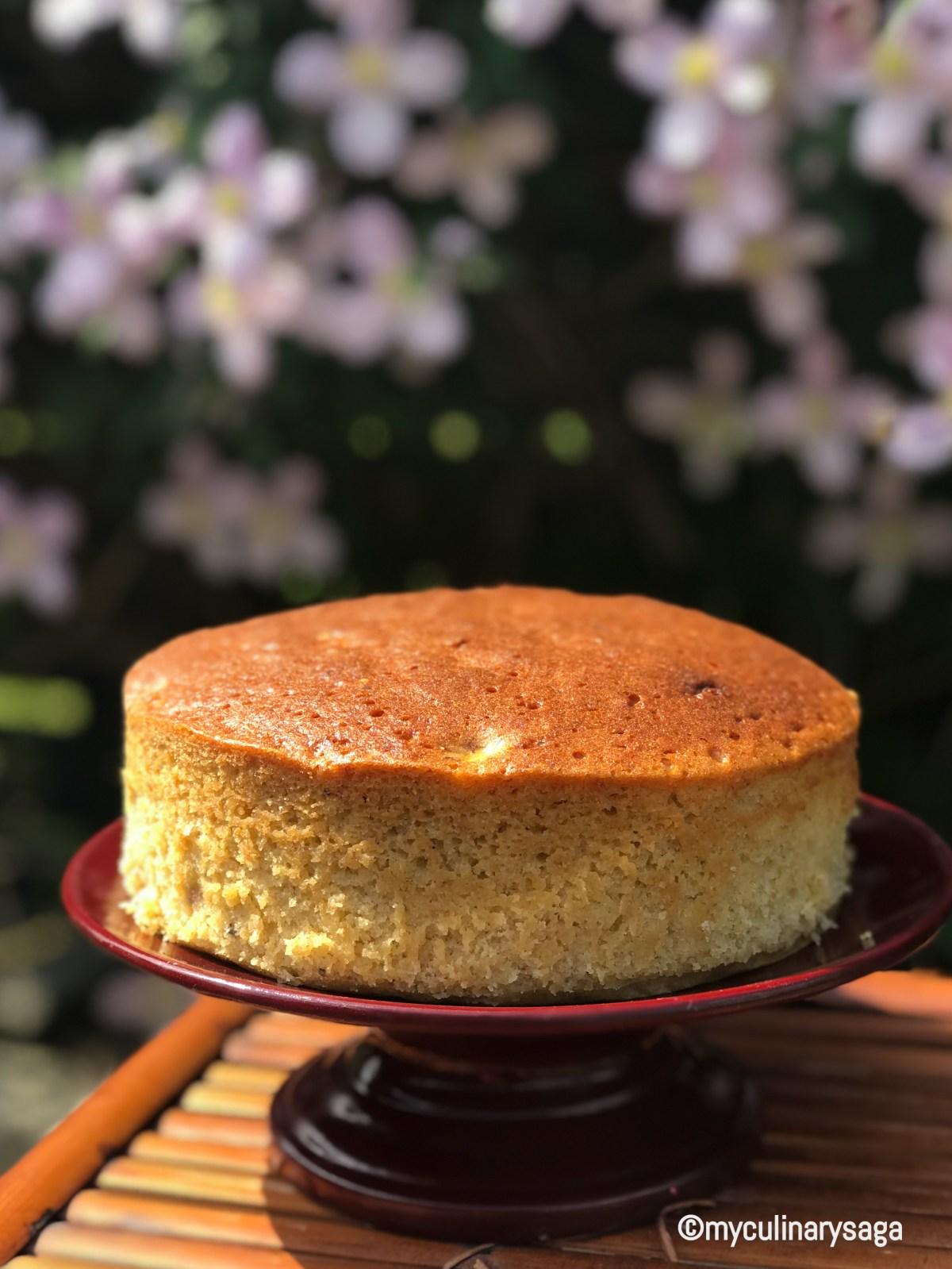 Classic Vanilla Sponge Cake