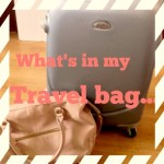 What's in my travel bag..
