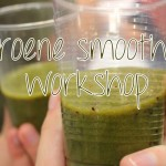 Workshop: groene smoothies + recept!