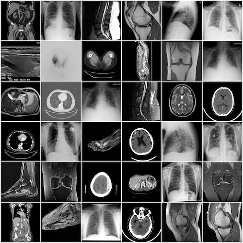collage of imaging studies