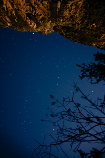 stars over havasupai campground