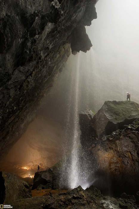 internal waterfalls
