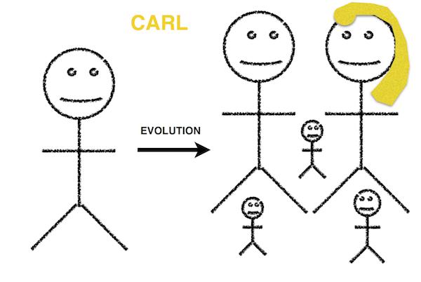 Carl the caveman
