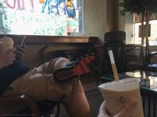 Java Square Café & a Gingerbread Fredda