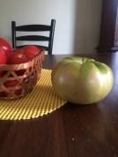 Massive garden tomato.