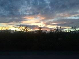 Sunrise.