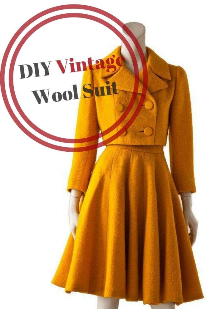 DIY Vintage Suit