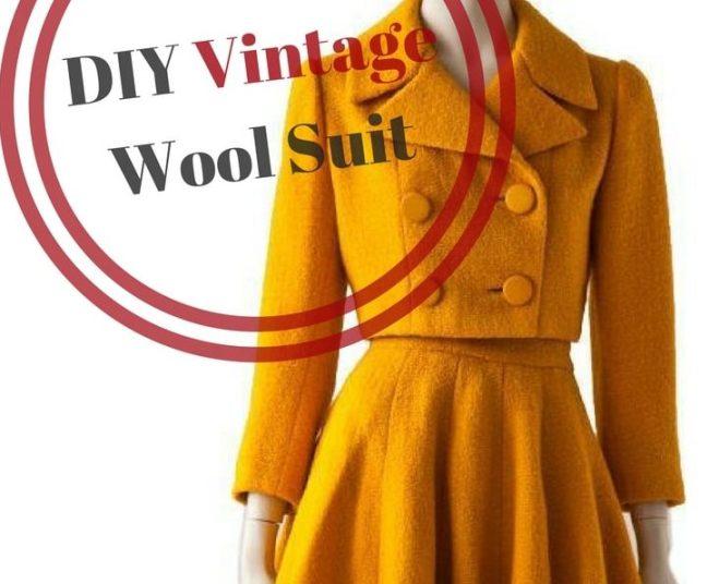 Diy Vintage Woolen suit