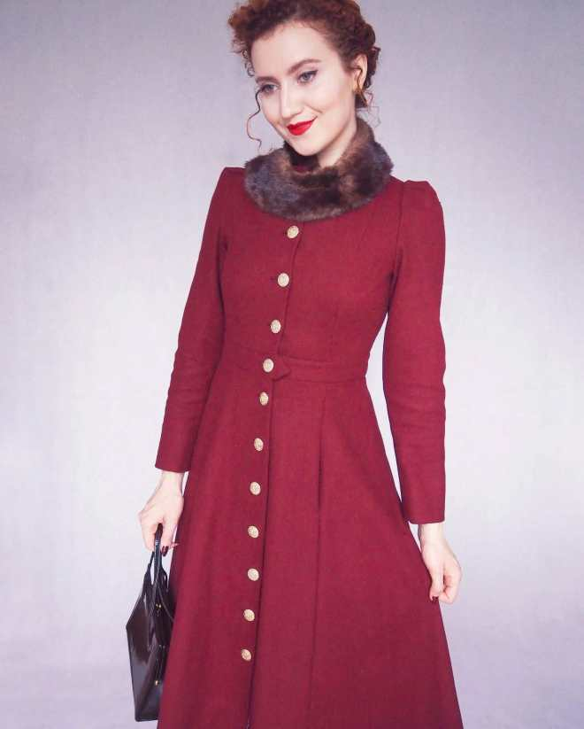 1940's Vintage Coat Pattern vintage coat, 1940's coat, vintage coat sewing pattern #1940s #vintagecoat