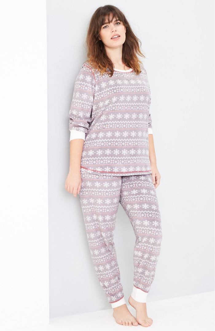 10 Cute Plus Size Pajama Sets Perfect For The Holidays My Curves And Curls