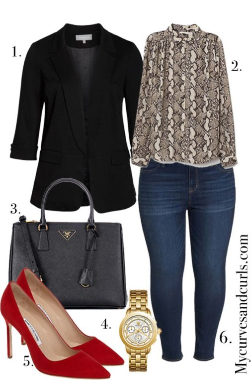 Casual Work Outfits for Spring to try this Year  plus size fashion for women