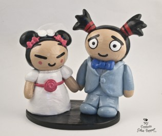 Cartoon Characters Cake Topper