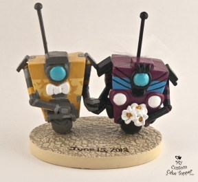 Gaming and Cartoon Cake Toppers