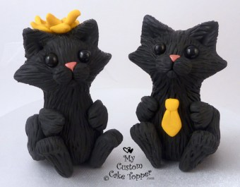 Cute Cats Cake Topper