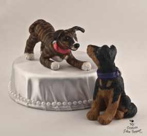 Dogs Cake Topper