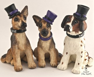 Dogs Family Cake Topper