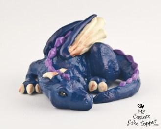 Dragon Teal Cake Topper