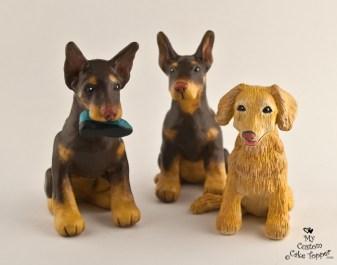 Dogs Custom Cake Topper
